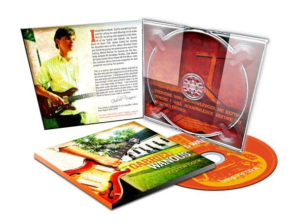 Music CDs in digipak packaging