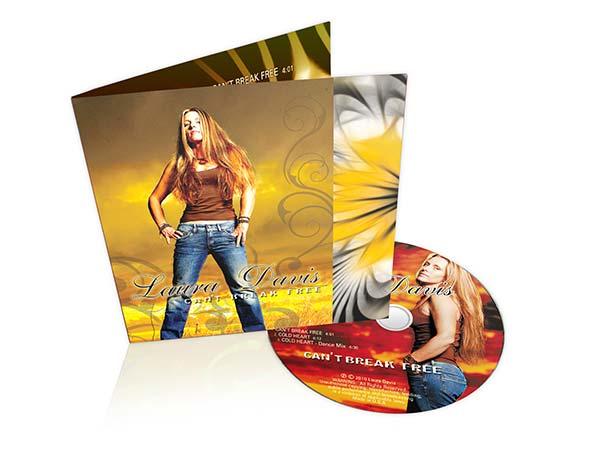 CDs in wallet packaging