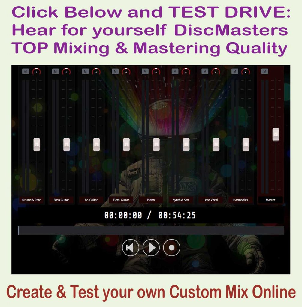 mastering and mixing
