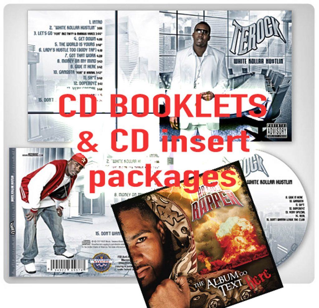 cd booklets